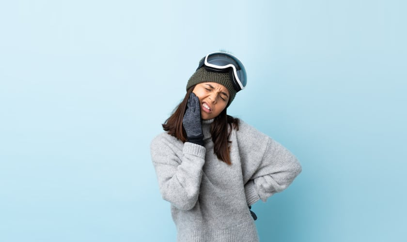 Ways to protect your teeth during winter